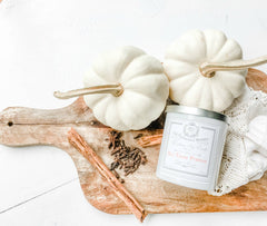 Z&Co. Hey There Pumpkin Farmhouse Collection Candle