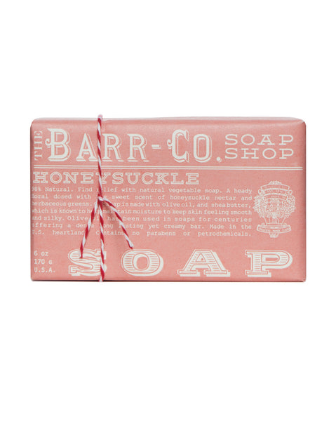 Barr-Co. Honeysuckle Triple Milled Bar Soap