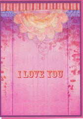 All Occasion Greeting Card - I Love You