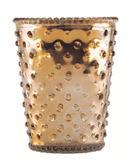 Simpatico NO. 82 LATTE HOBNAIL GLASS CANDL