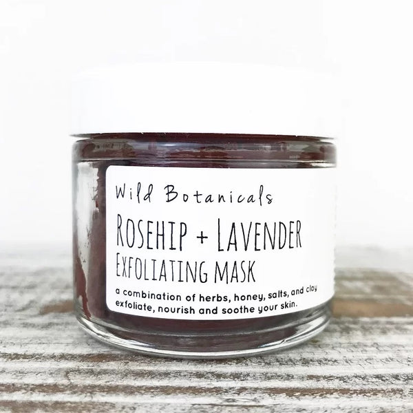 Wild Botanicals Rosehip and Lavender Exfoliating Mask