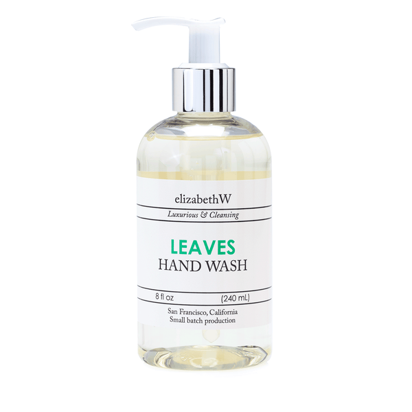 elizabeth W Small Batch Apothecary Leaves Hand Wash