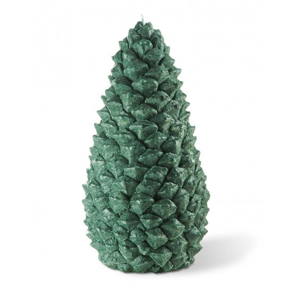 Bougies la Francaise Large Scented Pine Cone Candle - Green
