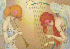 All Occasion Greeting Card - Musical Angels