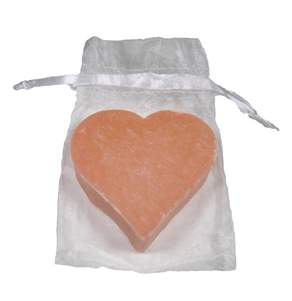 Massalia Heart Soap - Jasmin