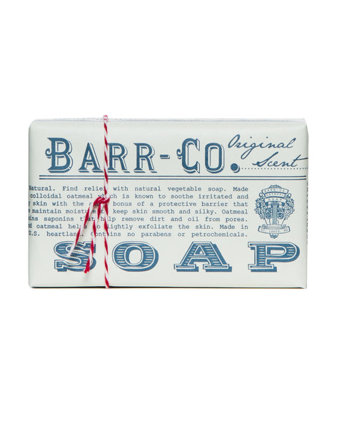 Barr-Co. Original Scent Triple-Milled Bar Soap