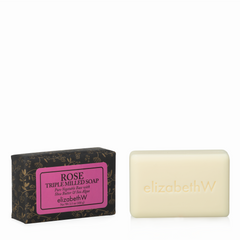 elizabeth W Signature Rose Soap-3.5 oz