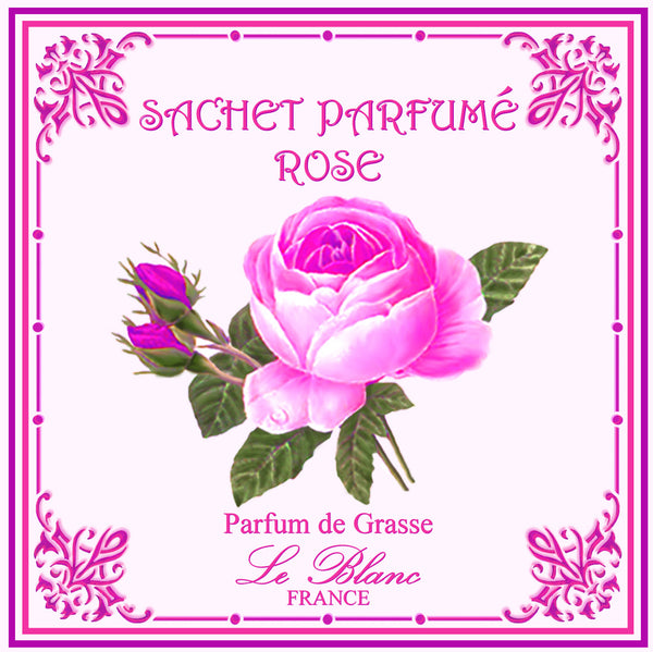 Le Blanc Scented Sachet - Rose