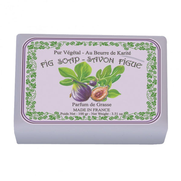 Le Blanc Wrapped Soap  - Fig