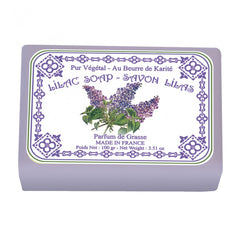 Le Blanc Lilac Wrapped Soap