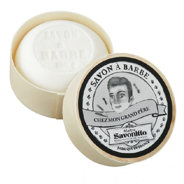 Maitre Savonitto Shaving Soap in Wooden Box