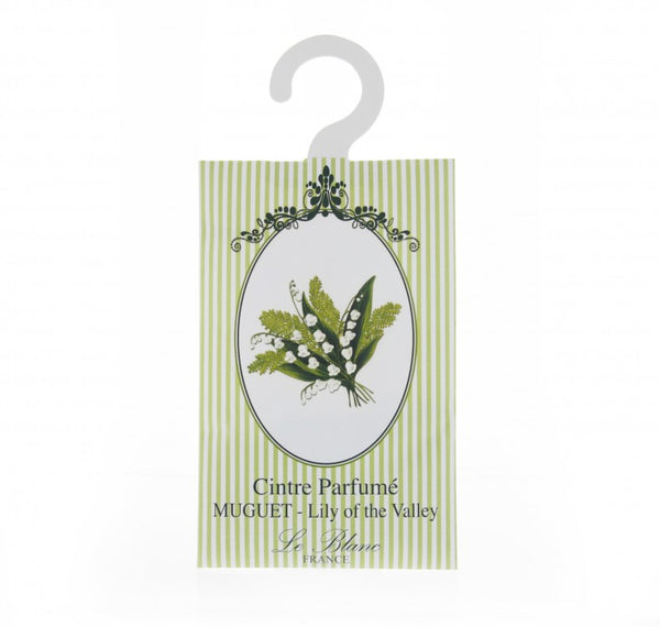 Le Blanc Scented Hanger Sachet -Lily of the Valley