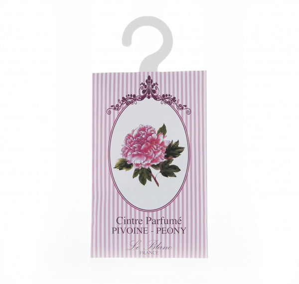 Le Blanc Scented Hanger Sachet - Peony