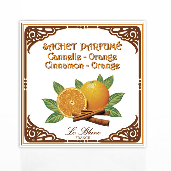 Le Blanc Scented Sachet - Cinnamon Orange