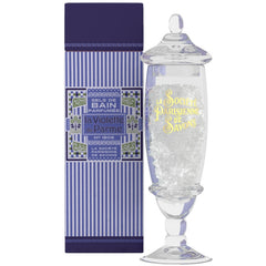 La Societe Parisienne de Savons La Violette de Parme Bath Salts in a Jar - Hampton Court Essential Luxuries