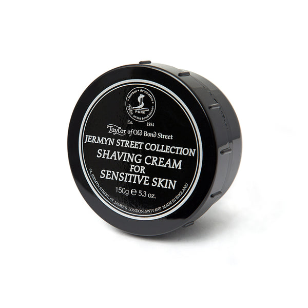 Taylor of Old Bond Street Jermyn Street Collection Sensitive Skin Shaving Cream 150g