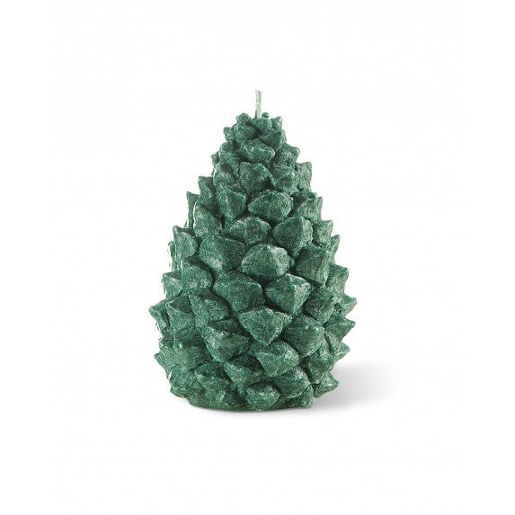 Bougies la Francaise Small Scented Pine Cone Candle - Green