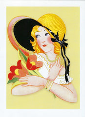 All Occasion Greeting Card - Spring Bonnet