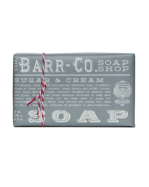 Barr-Co. Sugar & Cream Triple Milled Bar Soap
