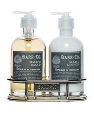 Barr-Co. Sugar & Cream Hand & Body Caddy Set