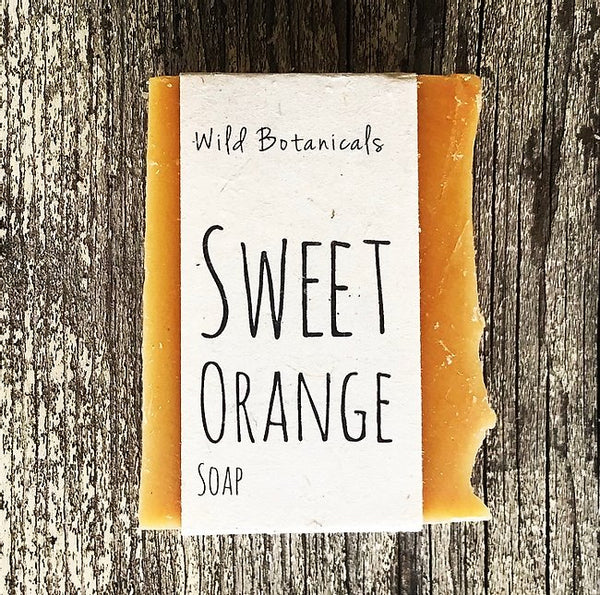 Wild Botanicals Sweet Orange Soap