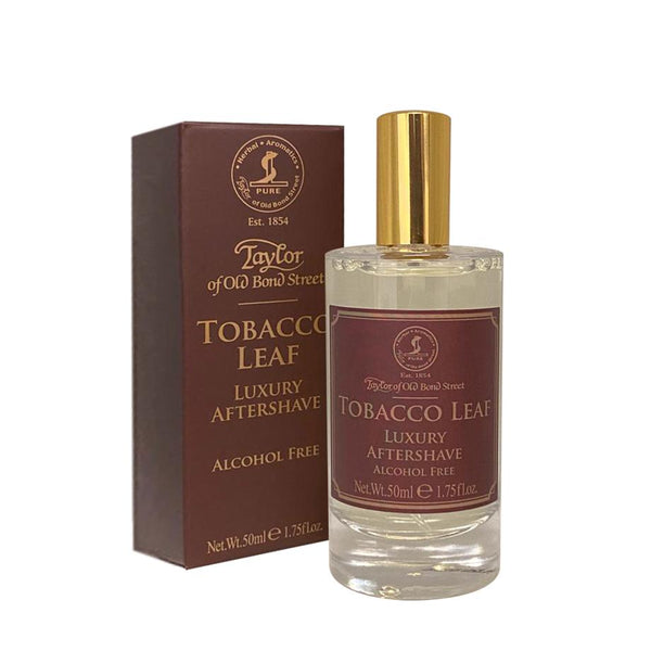 Taylor of Old Bond Street Tobacco Leaf Luxury Aftershave