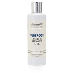 elizabeth W Small Batch Apothecary Tuberose Bath & Shower Gel