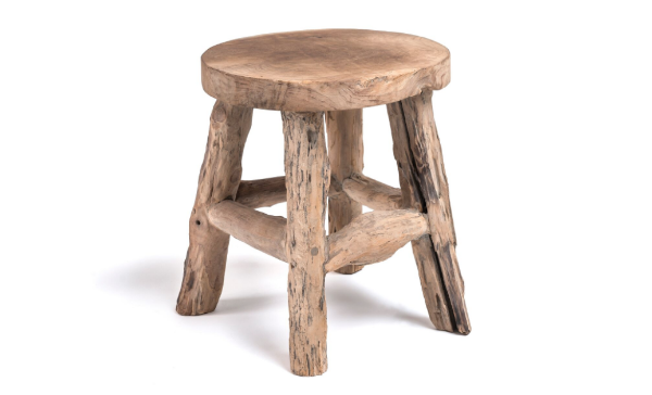 Gommaire Wood Stool