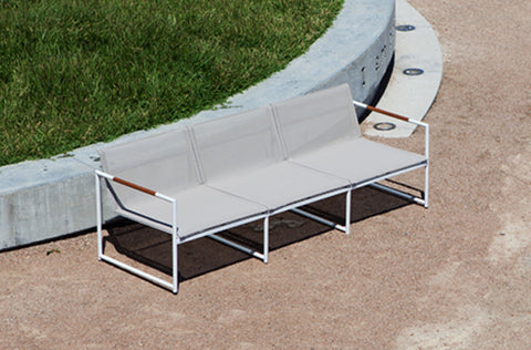 Breeze 3 Seat Lounge (without cushion)