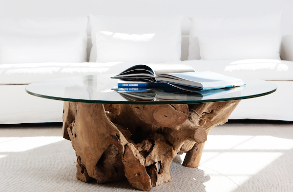 Pure Teak Root Coffee Table 1000 – Harbour Australia