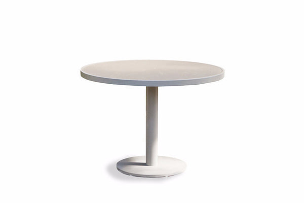 tables gloss trumpet naro white modern seater table round pedestal dining uk base stylish