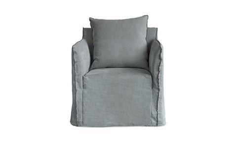Shown in Italian Washed Linen Grey Wash