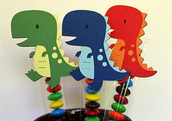 DINOSAUR party favor decorations