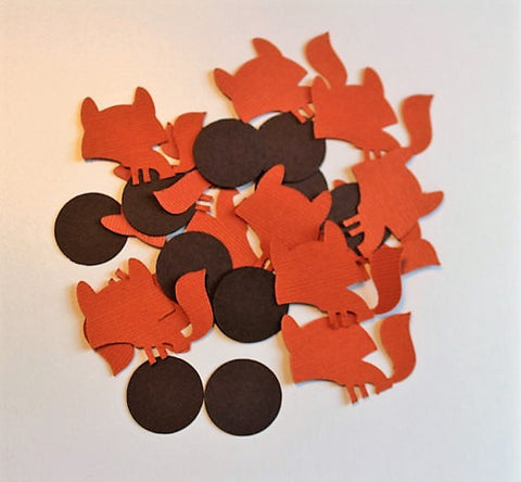 Party Confetti - Woodland Fox confetti - Woodland party decor
