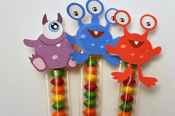 MONSTER party favor decorations