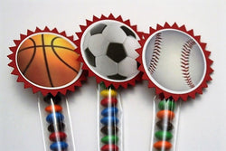 Sport themed party favors