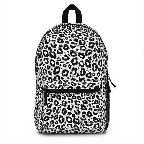 Black Cheetah Backpack (Made in USA)