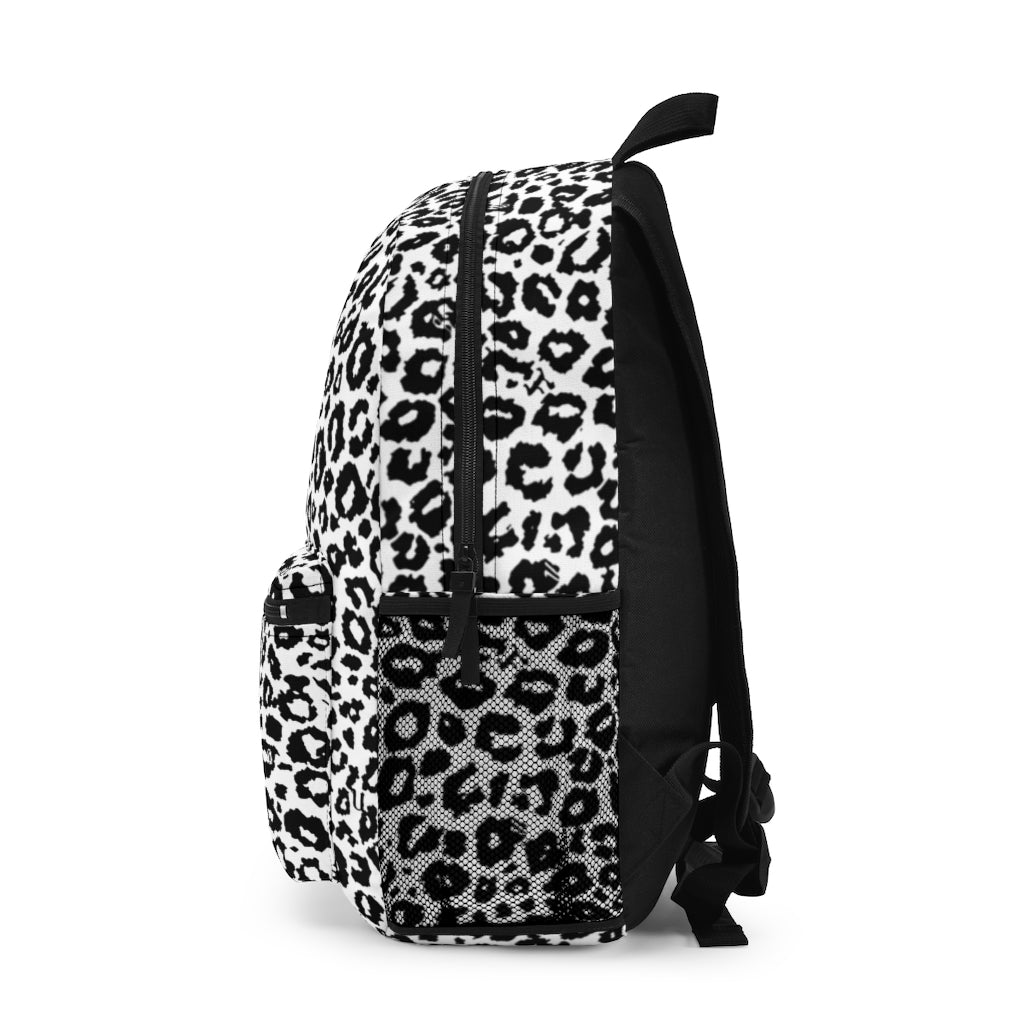 White Cheetah Backpack (Made in USA)