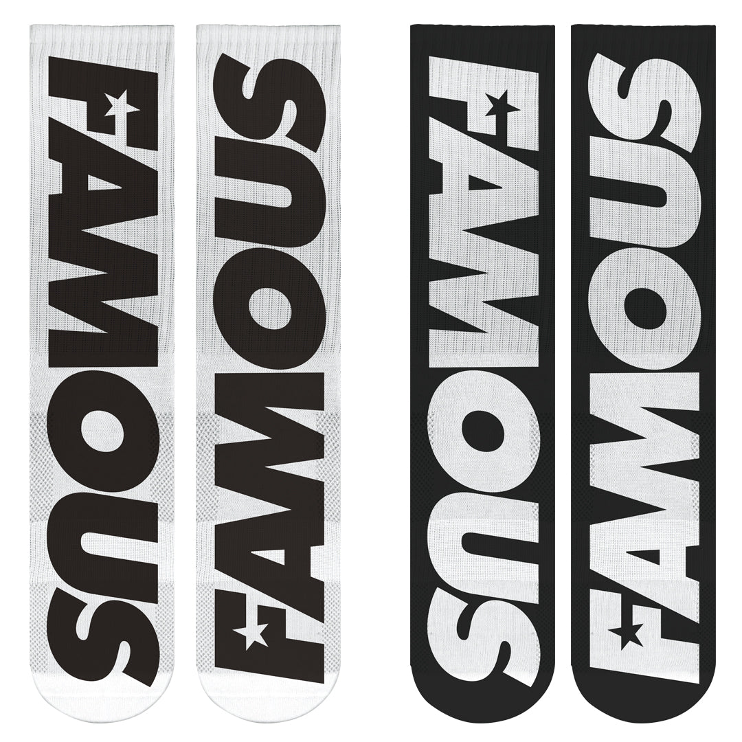 Famous Bar Socks 2 Pack