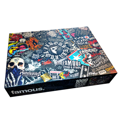 Famous Forever Jigsaw Puzzle