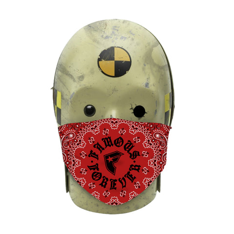 Bandana Red/Blue Face Mask