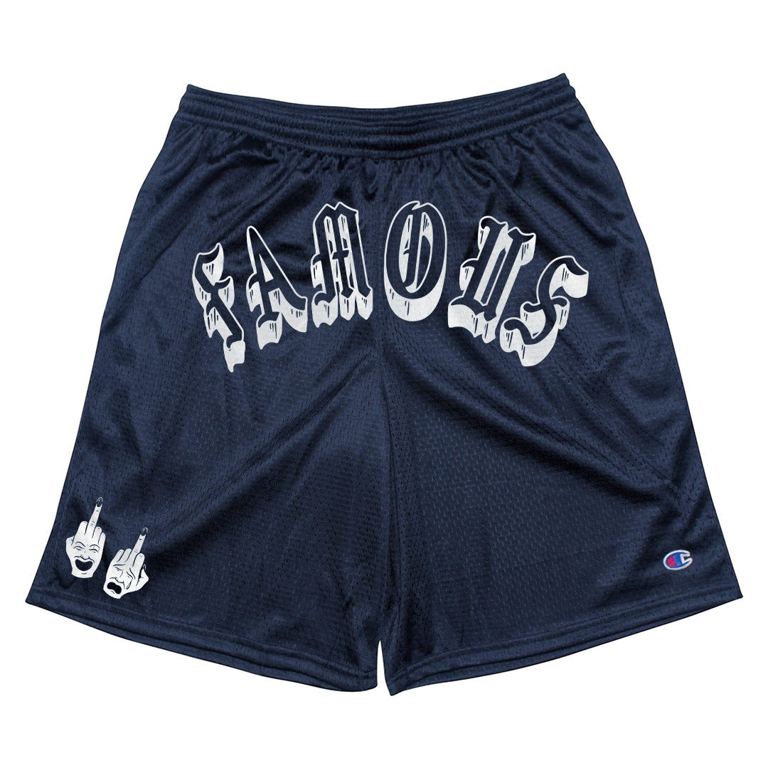 Middle Fingers Up Champion shorts