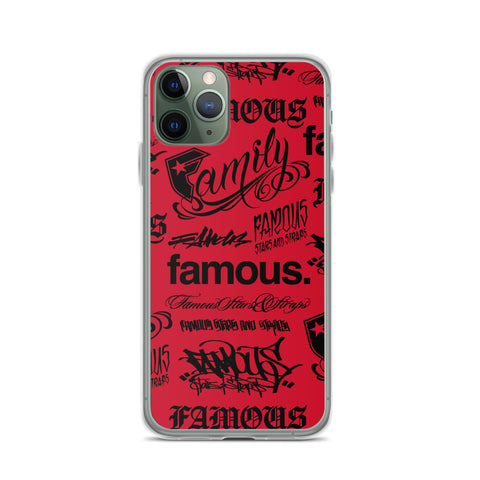 Hit Maker iPhone Case (RED)