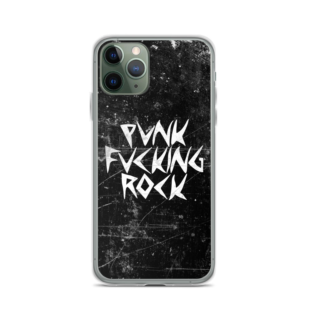 Punk F-ing Rock iPhone Case