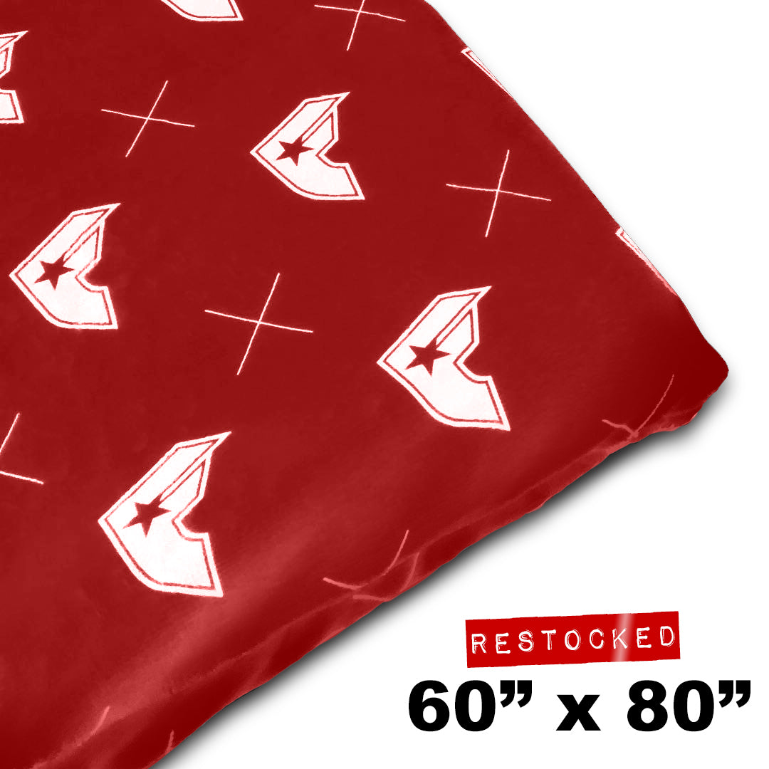 "60"" X 80"" RED GEN-X BLANKET"
