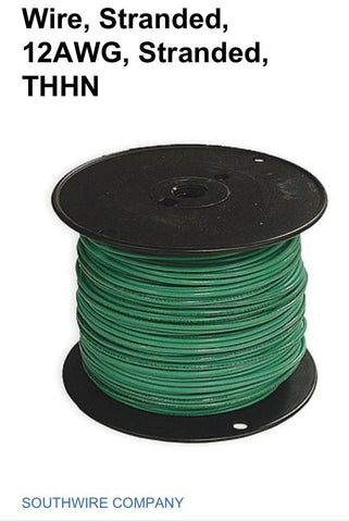 12 AWG THHN Stranded Copper Wire 600 V
