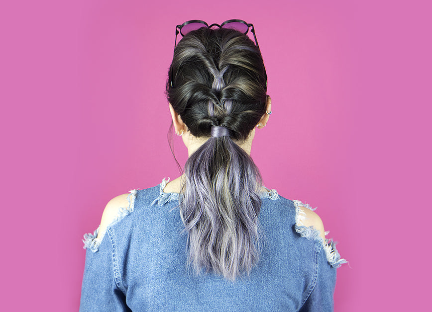 Example of Twisted Ponytail