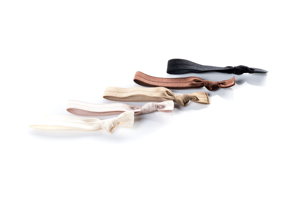 Nudes - InStyler All Tied Up Hair Ties