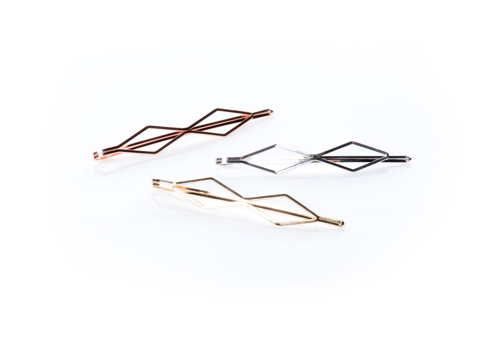 GeometricMetallics -  InStyler Geometric Pin It Up Bobby Pins