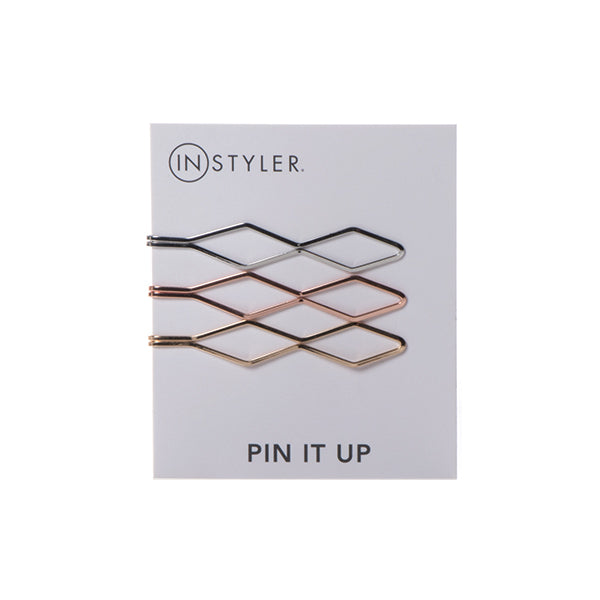 GeometricMetallics -  InStyler Geometric Pin It Up Bobby Pins - product feed